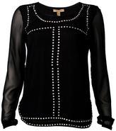 Bandolera Black Studded Top