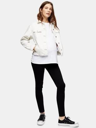 Topshop MaternityUnderbump Jamie Jeans - Black
