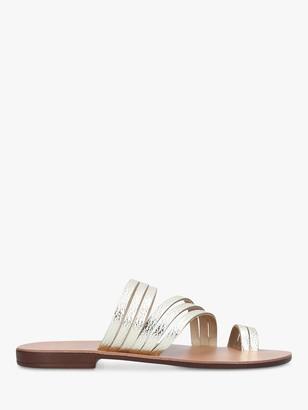 Kurt Geiger Deliah Multi Strap Flat Sandals