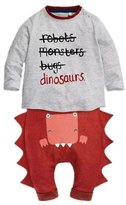 WHENOW Boys' Haoween Dinosaur Seepwear Shirt&Pants Pajamas Set