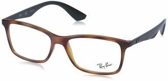Ray-Ban RX7047 Rectangular Eyeglass Frames Non Polarized Prescription Eyewear
