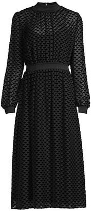 Tory Burch Velvet Devore Dress