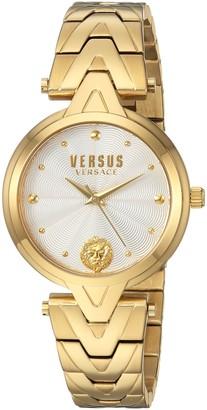 Versus By Versace Women's V Bracelet Quartz Watch with Stainless-Steel Strap