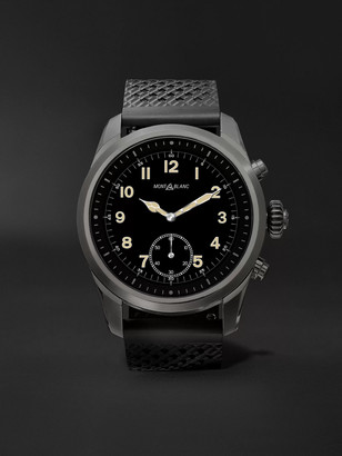 Montblanc Summit 42mm Titanium And Rubber Smart Watch, Ref. No. 119441