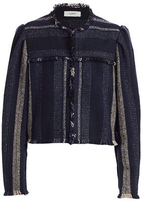 Etoile Isabel Marant Jizaya Stripe Printed Jacket