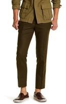 Topman Khaki Flat Front Suit Separates Pant