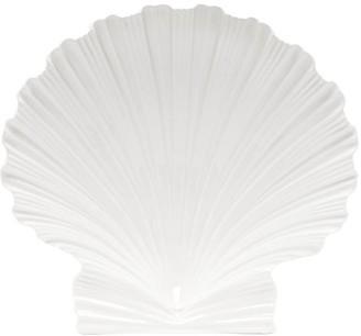 AERIN Shell Large Earthenware Platter - Cream