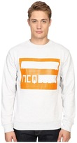 McQ by Alexander McQueen Clean Crew Neck Men's Long Sleeve Pullover