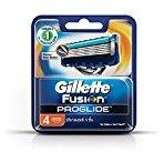 Gillette Fusion ProGlide Manual Men's Razor Blade Refills, 4 Count