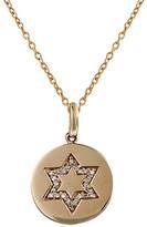 Effy Jewelry Effy 14K Rose Gold Diamond Star of David Pendant, 0.12 TCW