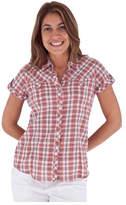 Royal Robbins Women's Peasant Plaid Short Sleeve