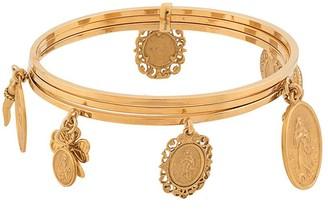 Dolce & Gabbana Multiple Charms Bracelet