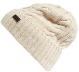 Barbour Women's Lambswool Cable Knit Hat - Beige