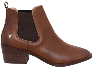 Windsor Smith Jordy Tan Leather Boot
