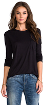 Alexander Wang Classic Long Sleeve T with Pocket