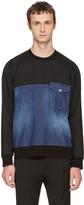 DSQUARED2 Blue Denim Sweatshirt