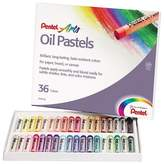 Pentel® Oil Pastel Set With Carrying Case,36-Color Set - Multi-Colored (36 Per Set)