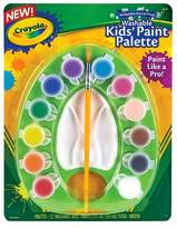 Crayola Kids' Paint Pot Palette with Paint 12ct 2 fl oz