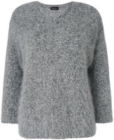 Roberto Collina fluffy jumper - women - Nylon/Angora/Cashmere/Wool - XS