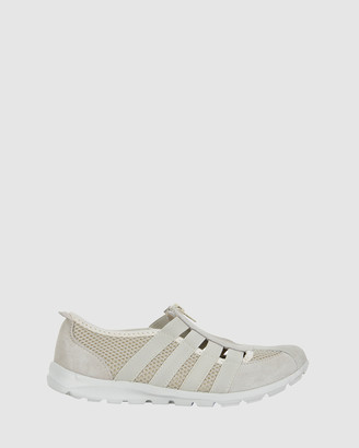 Ravella - Women's Nude Slip-On Sneakers - Christina - Size One Size, 39 at The Iconic