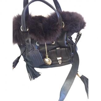 Lancel 1er Flirt Black Leather Handbags