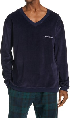 Noon Goons Times Velour Men's V-Neck Pullover