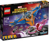 Lego Marvel Super Heroes Guardians of the Galaxy The Milano vs. The Abilisk set