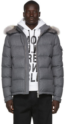 Moncler Grey Down Allemand Jacket