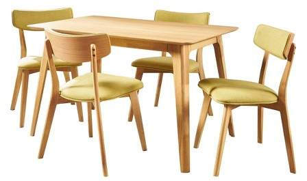 Excellent Mid Century Dining Set Shopstyle Andrewgaddart Wooden Chair Designs For Living Room Andrewgaddartcom