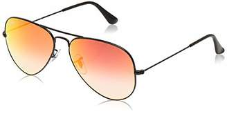 Ray-Ban RB3025 Aviator Large Metal Flash Mirrored Sunglasses