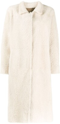 Liska Reversible Single-Breasted Coat
