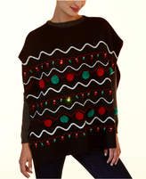 Collection XIIX Holiday Light-Up Poncho