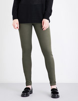 Joseph High-rise slim-fit stretch-gabardine leggings