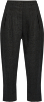 Etoile Isabel Marant Jaz Prince of Wales-checked linen trousers