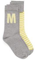 Nordstrom Women's Initial Crew Socks