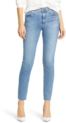 AG Jeans The Prima Raw Hem Ankle Cigarette Jeans