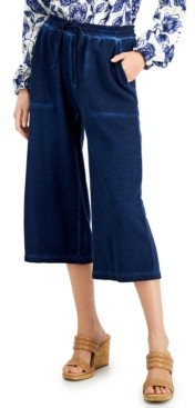 INC International Concepts Inc Petite High-Rise Culottes, Created for Macy's