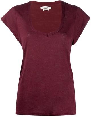 Etoile Isabel Marant short-sleeve fitted T-shirt