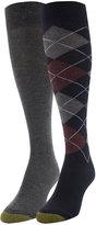Gold Toe Women's 2-Pk. Argyle Knee High Socks