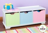 Kid Kraft Nantucket Storage Bench - Pastel