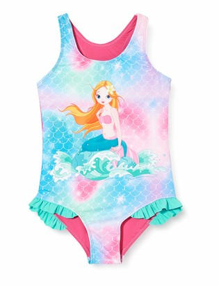 Playshoes Girl's Meerjungfrau One Piece Swimsuit