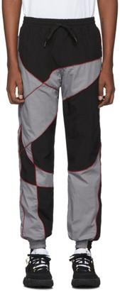 Liam Hodges Black Silicone Detail Track Pants