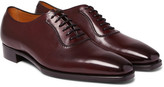 Gaziano & Girling - Westbury Burnished-leather Oxford Shoes