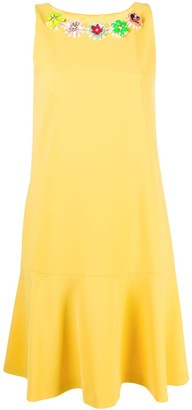 Boutique Moschino Embellished Shift Dress