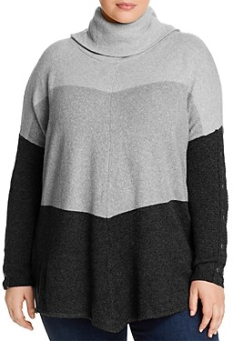 Joseph A Plus Cowl Neck Sweater