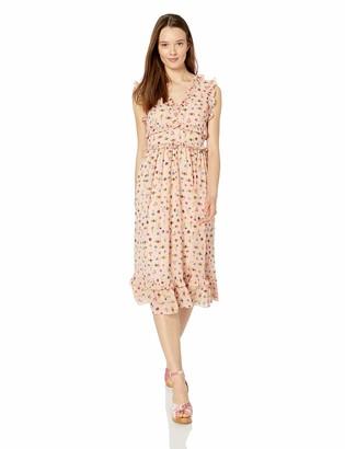 Betsey Johnson Women's Maxi Dress Bare Essential Multi 6