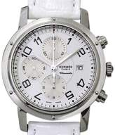 Hermes Clipper CP1 910 Chronograph Stainless Steel Automatic Mens Watch