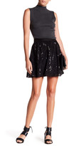 Michael Stars Silk Sequin Skirt