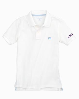 Southern Tide LSU Tigers Boys Polo Shirt