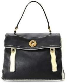 Saint Laurent Vintage Muse Two Leather Top Handle Bag